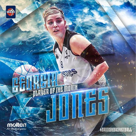 Georgia Jones Player of the Month