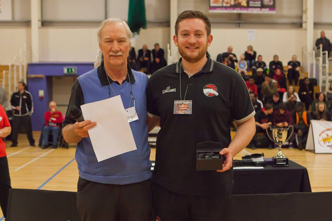 Kornel Tober Coach Award 2015 - Josh Merrington