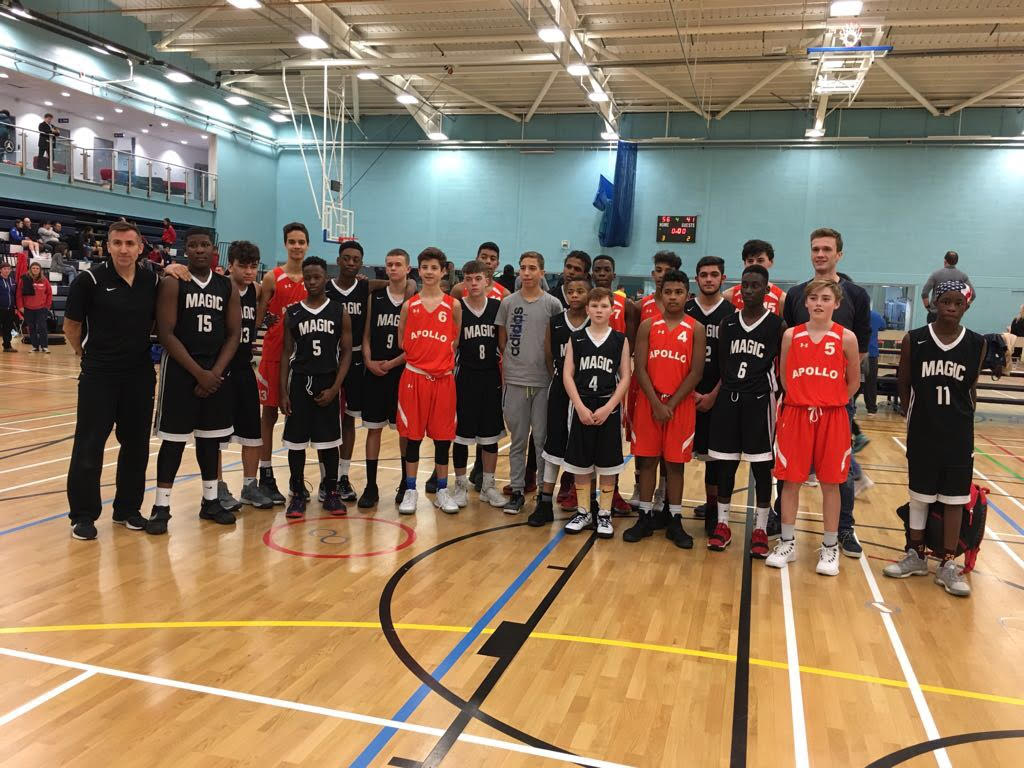Manchester Magic U14 at Battle in the Capital