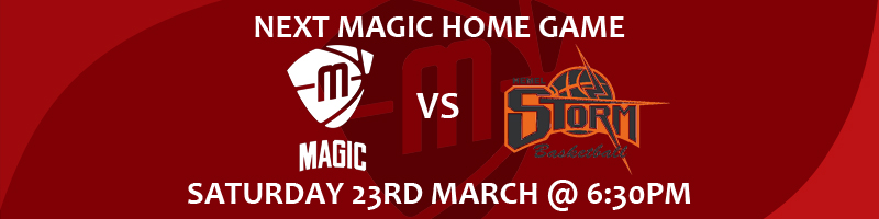 Manchester Magic vs Hemel Storm Saturday 23rd March at 6:30pm at the Manchester Basketball Centre