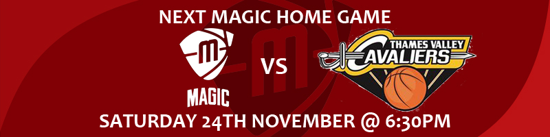 Manchester Magic vs Thames Valley Cavaliers Saturday 24th November at 6:30pm at the Manchester Basketball Centre