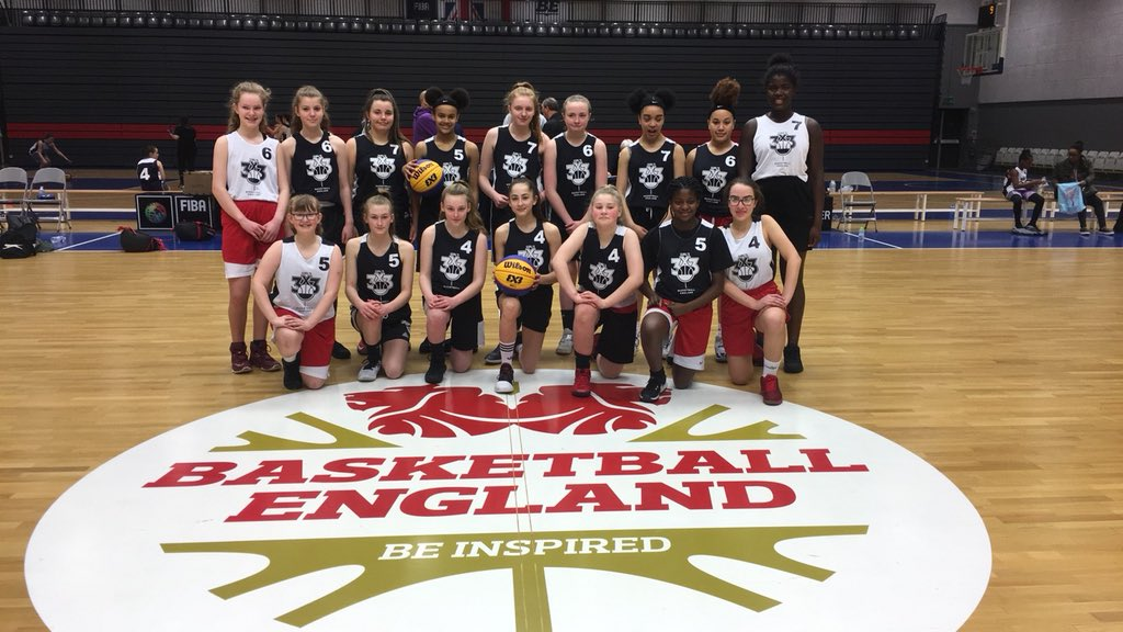 Manchester Mystics U14 at North West 3x3 Tournament at the National Basketball Performance Centre 2018
