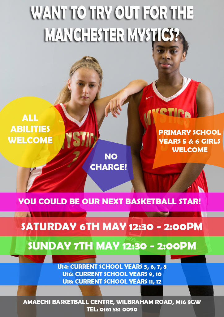 Manchester Mystics Junior Trials 2017