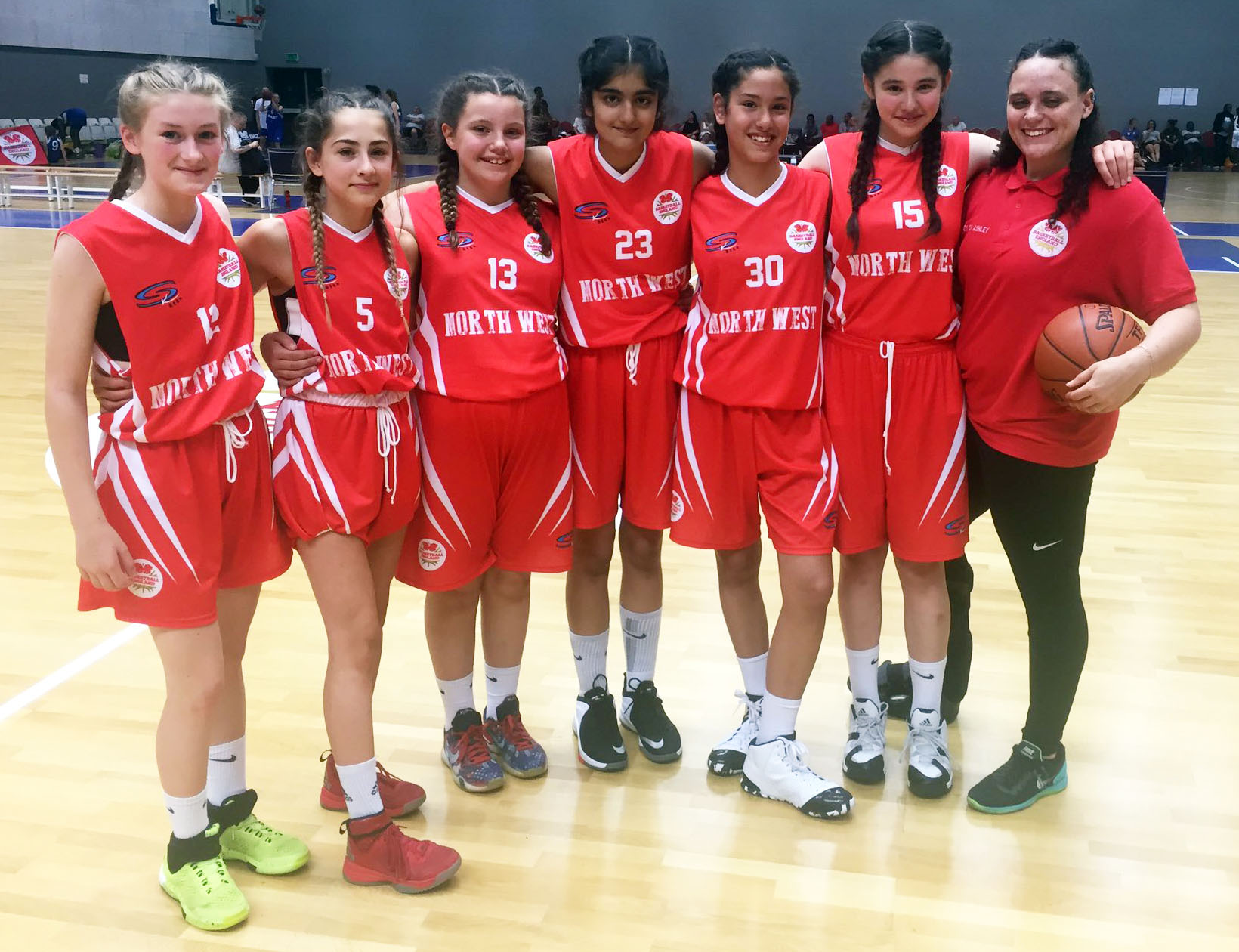 Manchester Mystics U13 North West Team 2017