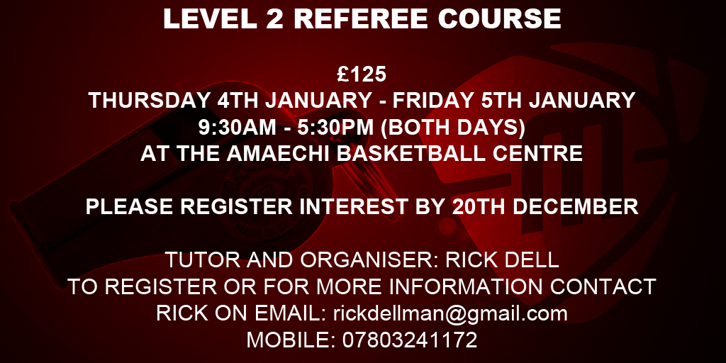 Level 2 Referee Course