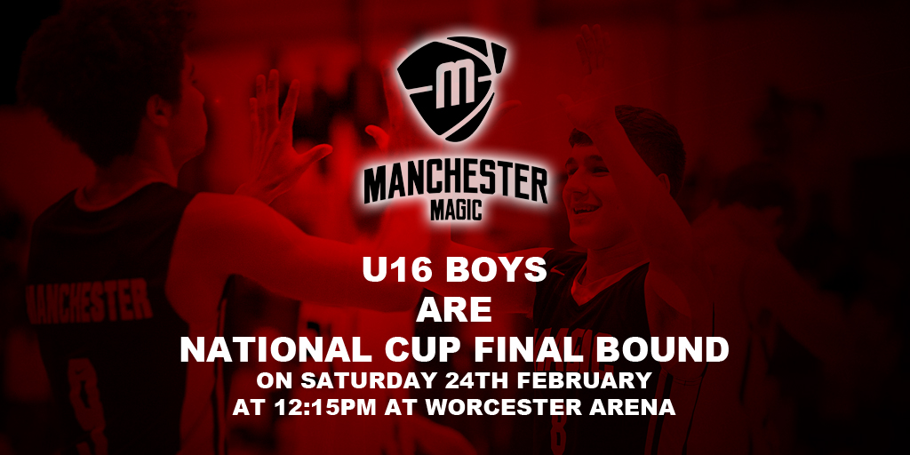 Manchester Magic U16 National Cup Final Bound