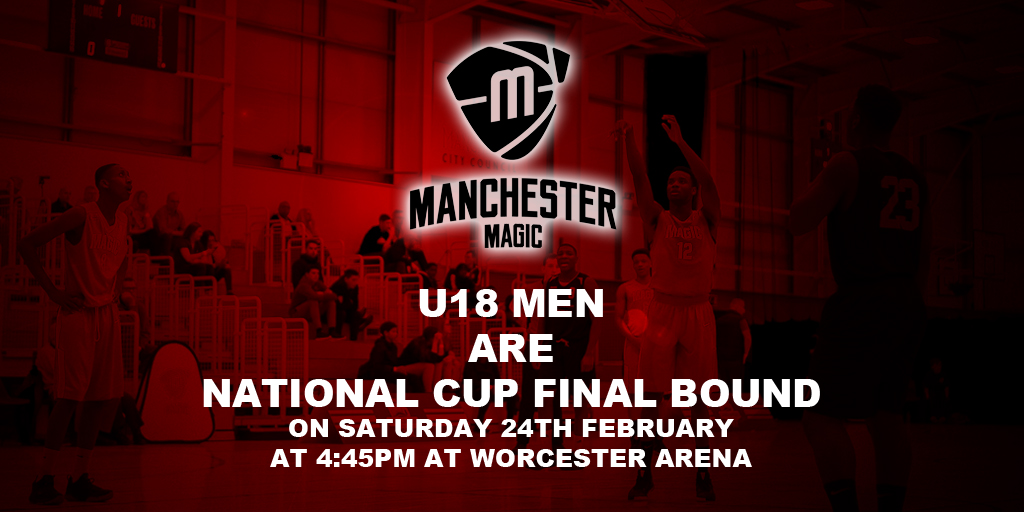 Manchester Magic U18 National Cup Final Bound